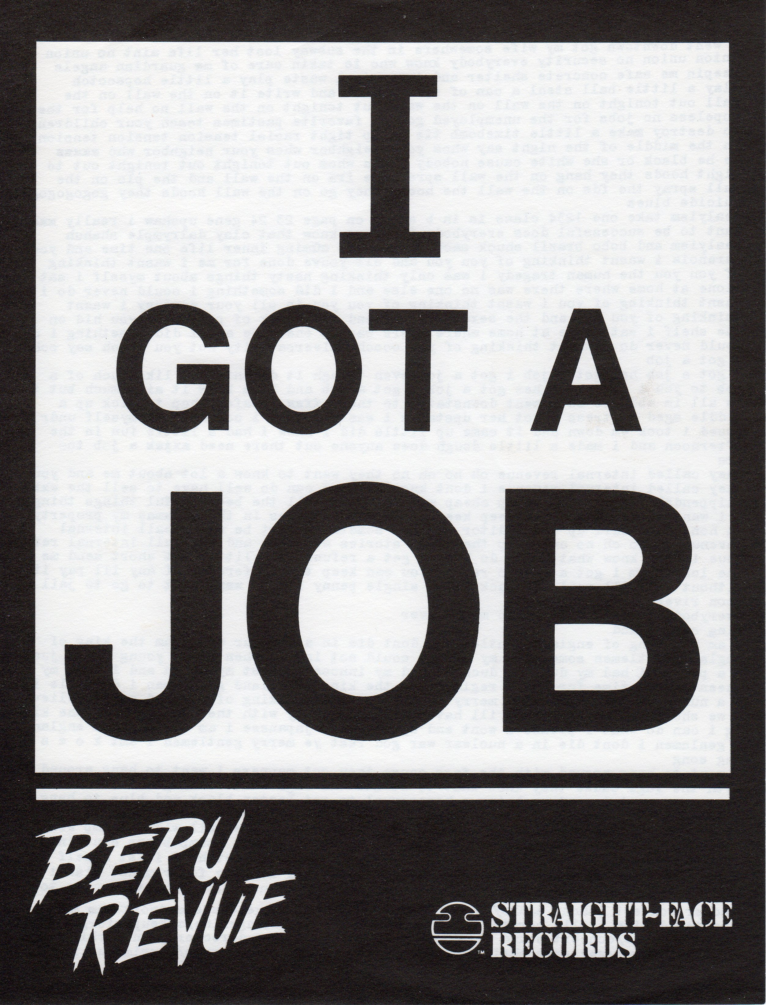 Beru Revue - I Got A Job